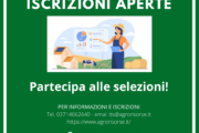 ISCRIZIONI APERTE AI PERCORSI POST DIPLOMA DELLA FONDAZIONE ITS AGRORISORSE!