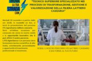 IL 10 NOVEMBRE NON PERDERE L'OPEN DAY DELL'ITS DEDICATO AL LATTIERO CASEARIO